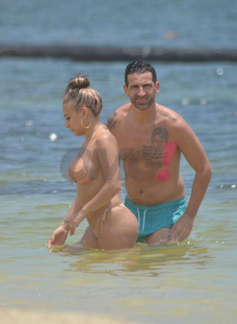 Jass Reye en bikini