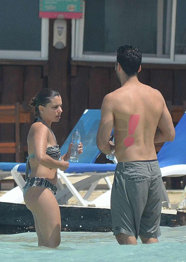 Tábata Jalil en bikini