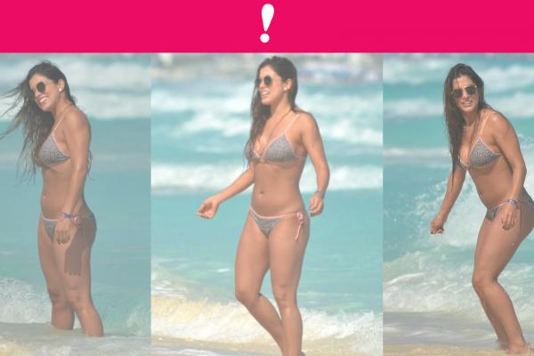 Tania Lizardo en bikini