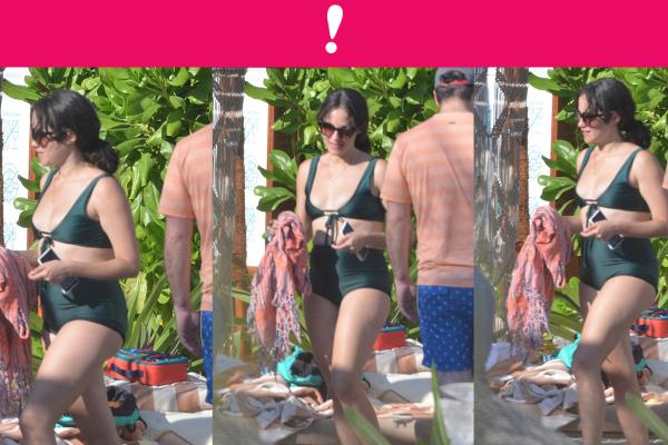Ximena Sariñana en bikini en su visita a la isla Holbox