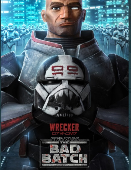Wrecker  Bad Bach star wars