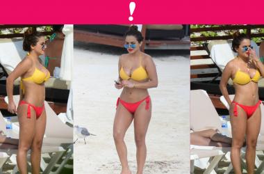 Samadhi Zendejas en bikini en Cancún.