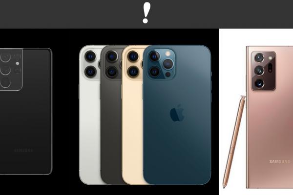 Los 5 mejores smartphones