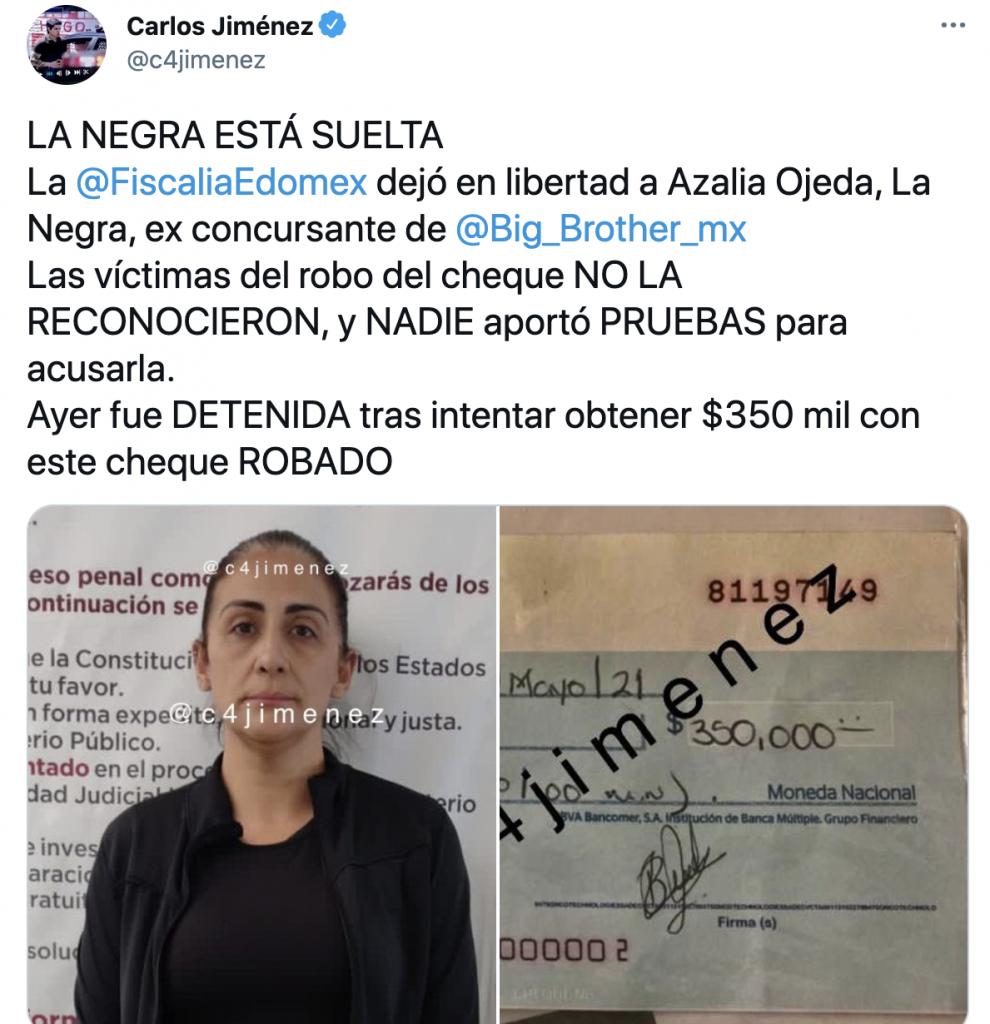 Azalia La negra