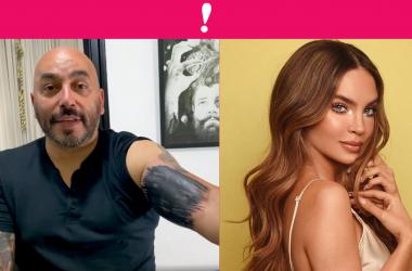 Lupillo Rivera borra el tatuaje que se hizo de Belinda