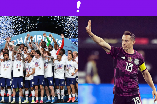 USA vs México soccer final nations league