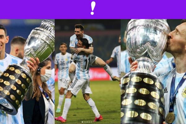 Argentina Campeón Copa America 2021
