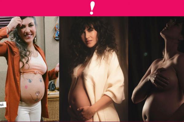 Amanda Miguel embarazo de su hija