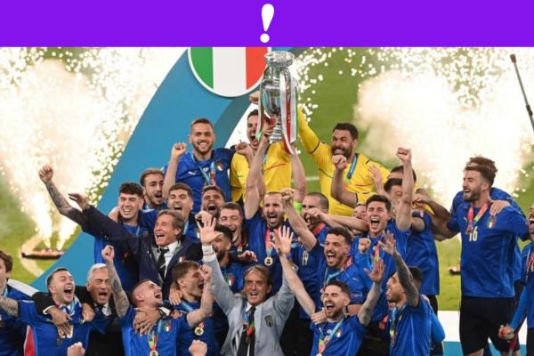 Italia Campeón Eurocopa 2021