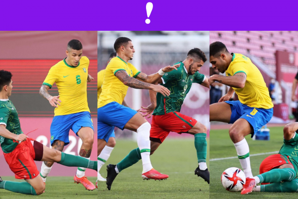 semifinal olímpicos futbol México vs Brasil