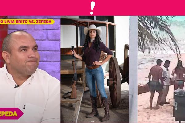 Se pospone audiencia de Livia brito vs paparazzi Ernesto Zepeda