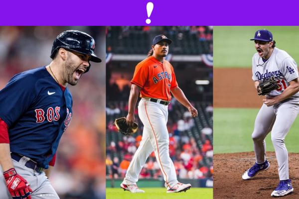 En las Series de Campeonato 2021 Dodgers, en la lona, Houston y Boston, parejos! ⚾️